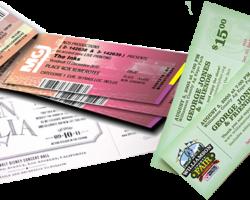 печать билетов