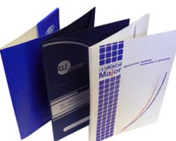 папки с логотипом